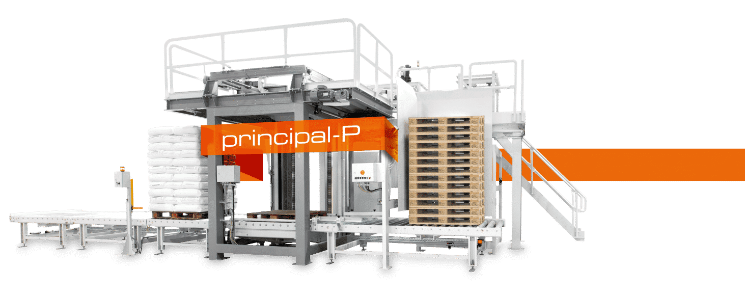 high-performance portal palletizer PRINCIPAL-P | STATEC BINDER