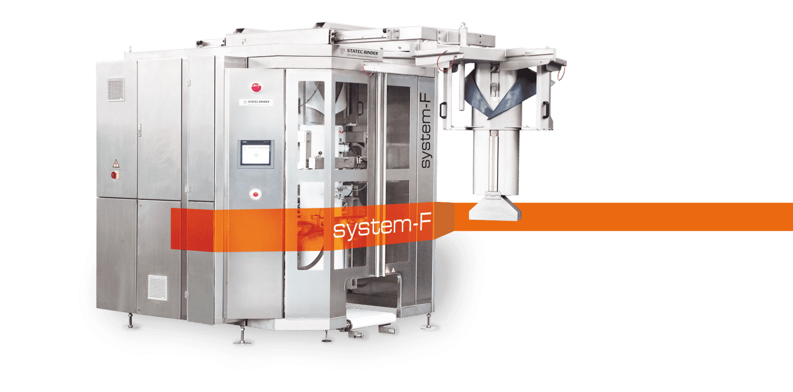 SYSTEM-F vertical FFS-bagging machine | STATEC BINDER